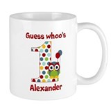 Custom guess whos 1 boy Small Mug