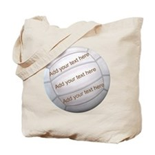 Beach Volleyball Money Tote Bag