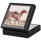 Irish Wolfhounds Keepsake Box