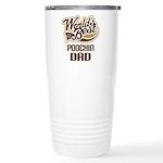 Poochin Dog Dad Ceramic Travel Mug