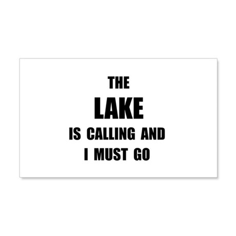 Lake Calling 20x12 Wall Decal