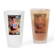 Angela Merckel Drinking Glass