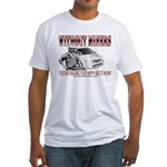 Without Miners Happy Ass Fitted T-Shirt