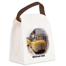 Boardwalk Tram Canvas Lunch Bag