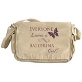 Ballerina Girl Messenger Bag