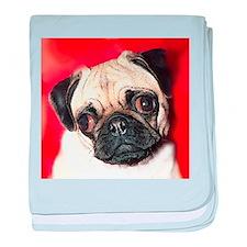 Pug Gifts 1 baby blanket