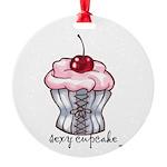 sexycupcake.jpg Round Ornament