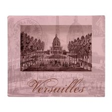 Vintage Versailles Throw Blanket