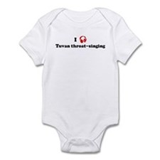 Tuvan throat-singing music Infant Bodysuit