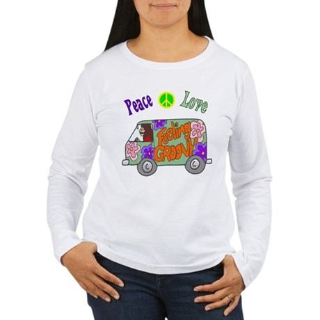 Groovy Van Women's Long Sleeve T-Shirt