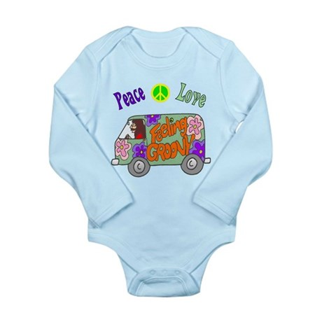 Groovy Van Long Sleeve Infant Bodysuit