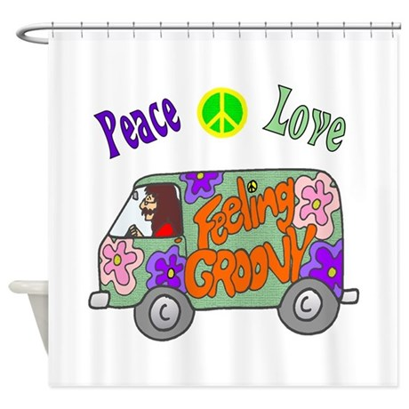 Groovy Van Shower Curtain