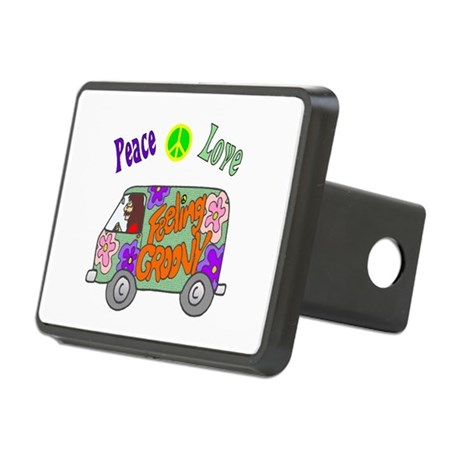 Groovy Van Rectangular Hitch Cover