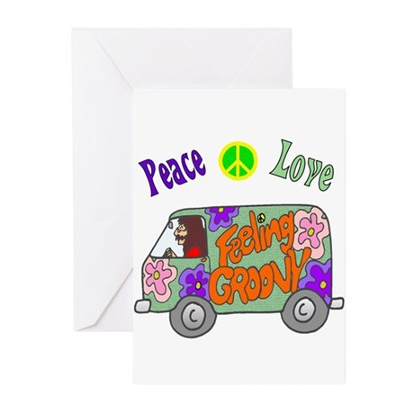 Groovy Van Greeting Cards (Pk of 10)