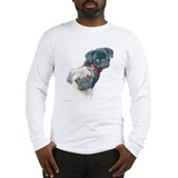 Two Pugs Long Sleeve T-Shirt