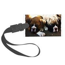 Boxer puppies Luggage Tag