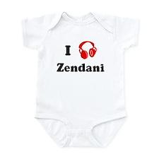 Zendani music Infant Bodysuit