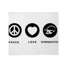 Rhythmic Gymnastic Throw Blanket