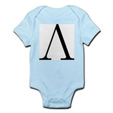Greek Letter Lambda Infant Bodysuit