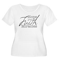 Mood Booster Hope, Faith, Miracles T-Shirt