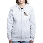 American Show Racer Opal Pigeon Women's Zip Hoodie