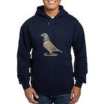 American Show Racer Opal Pigeon Hoodie (dark)