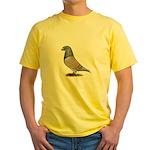 American Show Racer Opal Pigeon Yellow T-Shirt