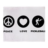 Pickleball Throw Blanket