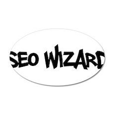 SEO Wizard - Search Engine Optimization 20x12 Oval