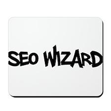 SEO Wizard - Search Engine Optimization Mousepad