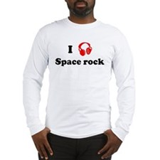 Space rock music Long Sleeve T-Shirt