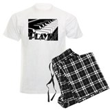PLAYER- PIANO KEYS Pajamas