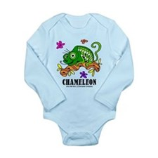 Cartoon Chameleon by Lorenzo Body Suit