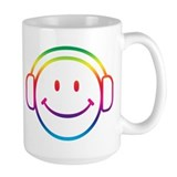 Smiley DJ Mug