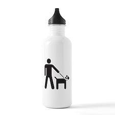 Walking the Dog Water Bottle