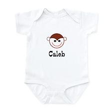 Caleb - Monkey Face Infant Bodysuit