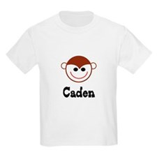 Caden - Monkey Face Kids T-Shirt