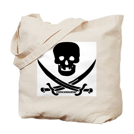 Pirate Fencer Tote Bag