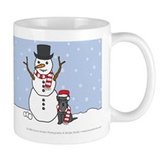 Black Miniature Schnauzer Coffee Mug