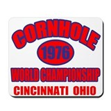 Cincinnati Cornhole Mousepad