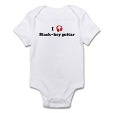 Slack-key guitar music Infant Bodysuit