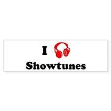 Showtunes music Bumper Bumper Sticker