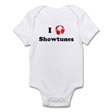 Showtunes music Infant Bodysuit