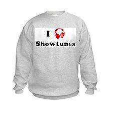 Showtunes music Sweatshirt