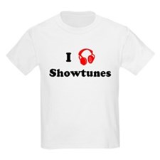 Showtunes music Kids T-Shirt