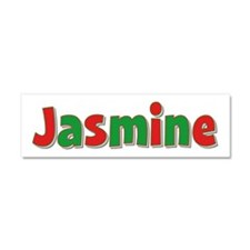 Jasmine Christmas 10x3 Car Magnet