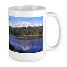 Mount Rainier large mug