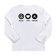Curling Long Sleeve Infant T-Shirt