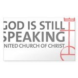 God Is Still Speaking Decal