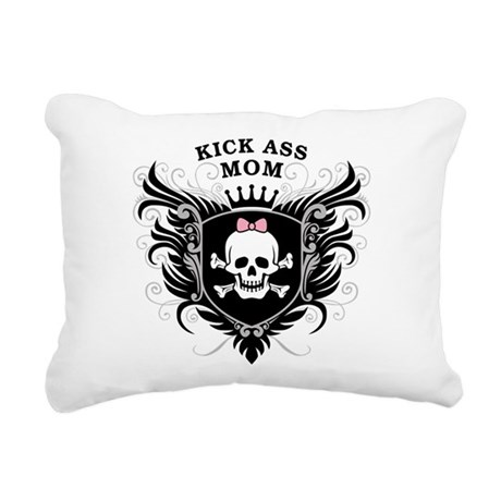 kick_ass_mom.png Rectangular Canvas Pillow